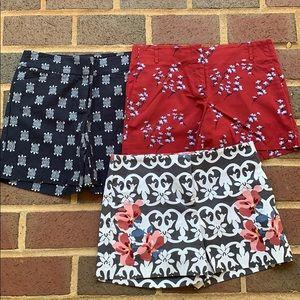 EUC 3 Loft shorts sz 0